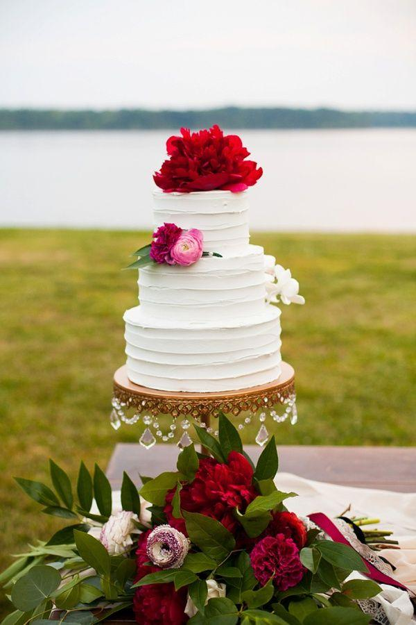 Jewel-Toned Ruby And Marsala Wedding Inspiration #2339101 - Weddbook