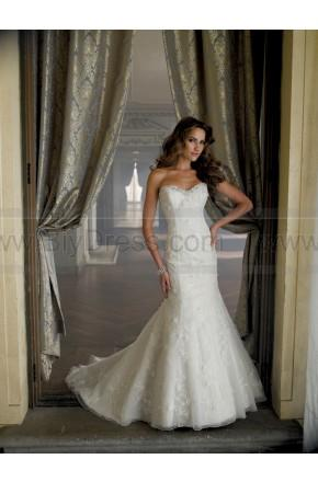 Hochzeit - David Tutera For Mon Cheri 213251-Ryleigh Wedding Dress