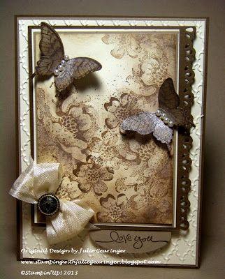 Wedding - SU Papillon Potpourri