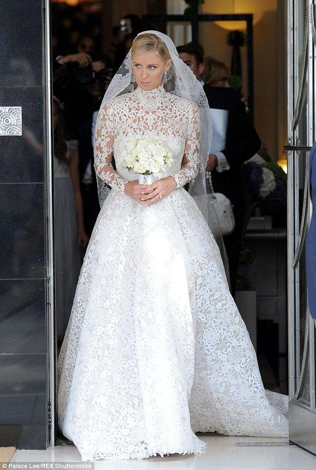 Свадьба - Paris Hilton Wears Powder Blue Dress To Sister Nicky's Wedding