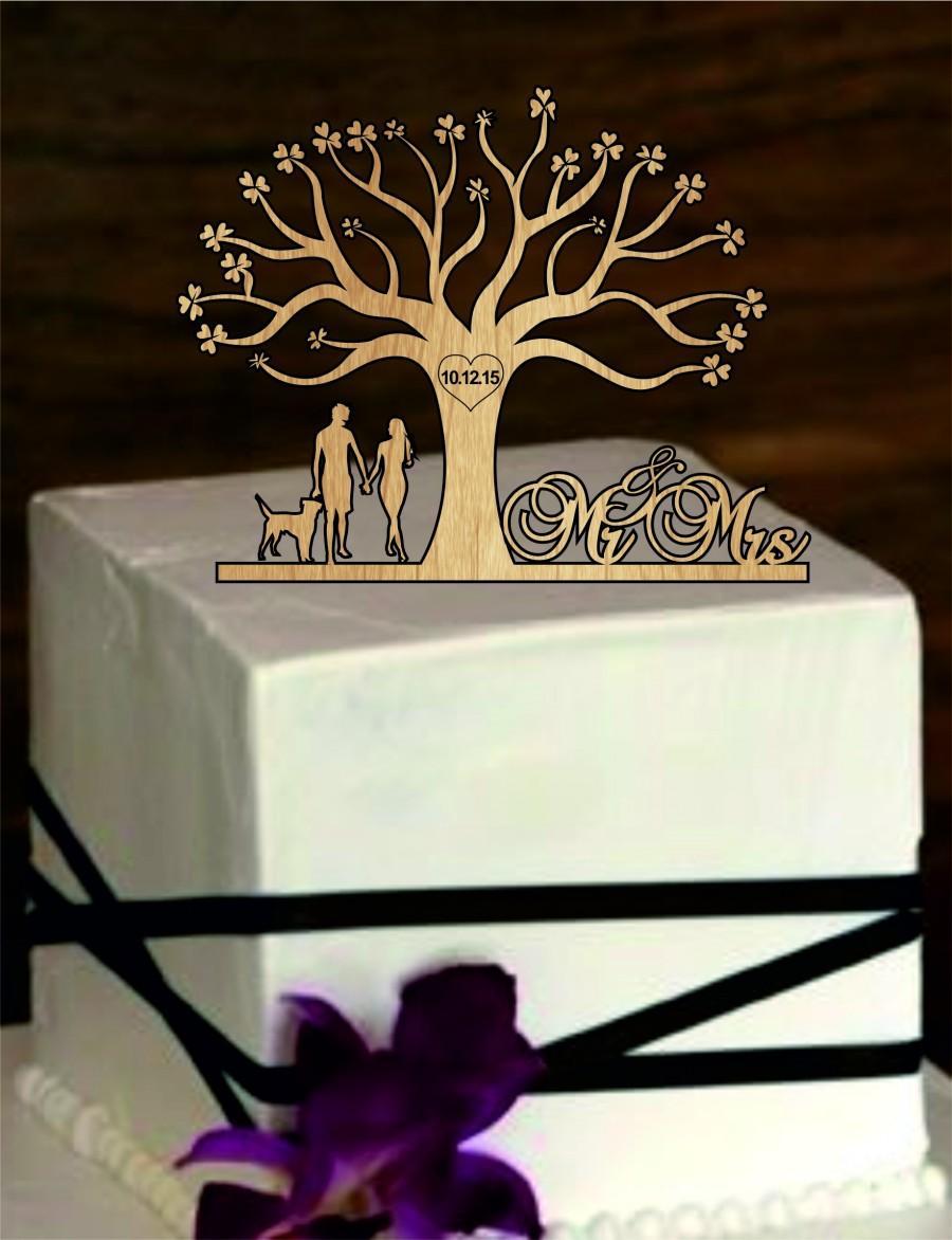Rustic Wedding Cake Topper Tree Of Life Wedding Cake Topper