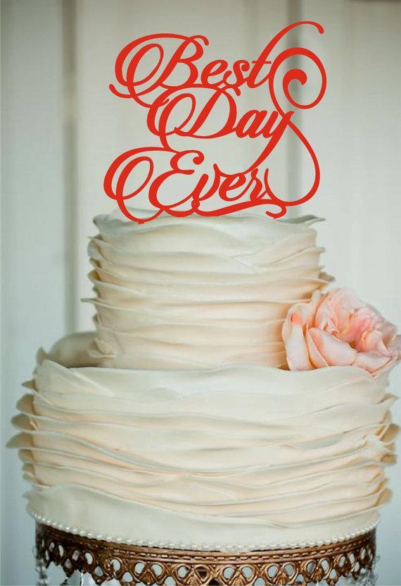 Rustic Wedding Cake Toppers Monogram