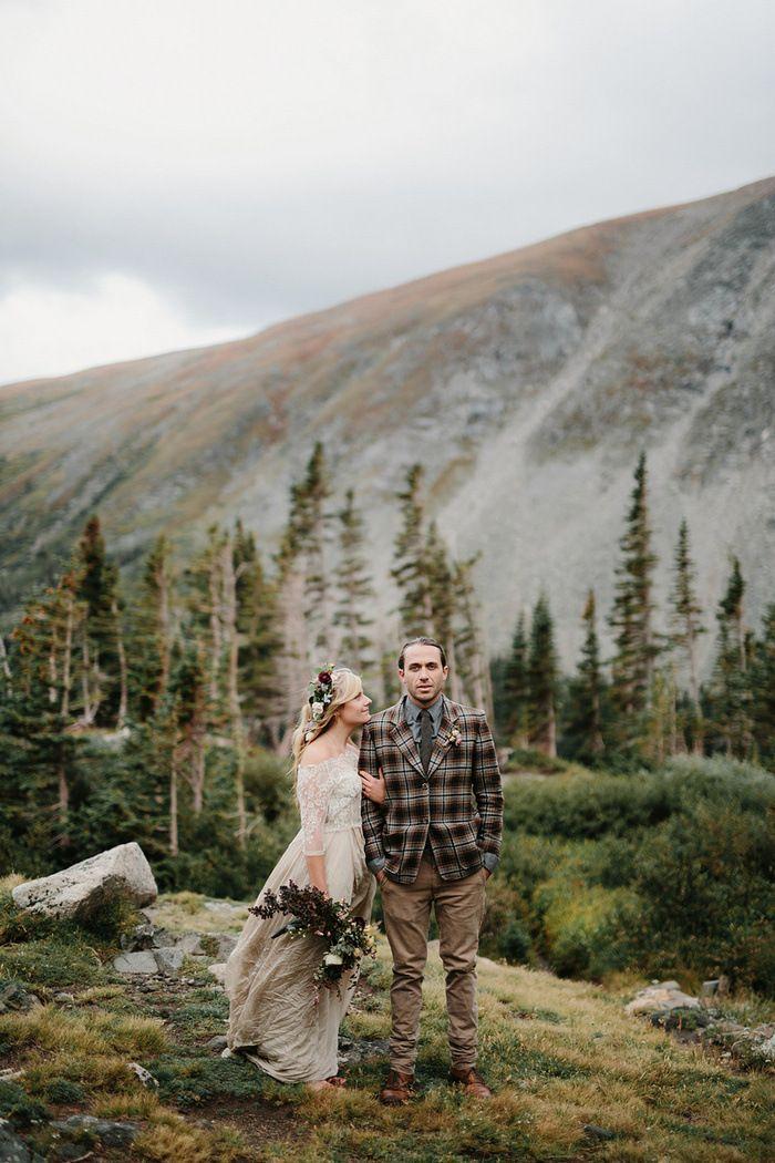زفاف - Styled Colorado Elopement