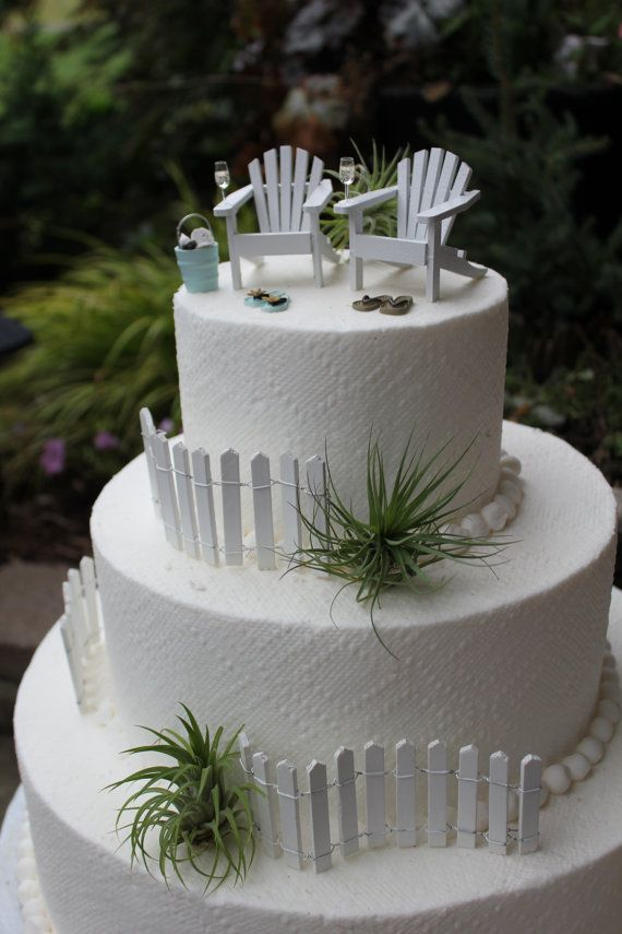 White Adirondack Chairs For Wedding Cakes