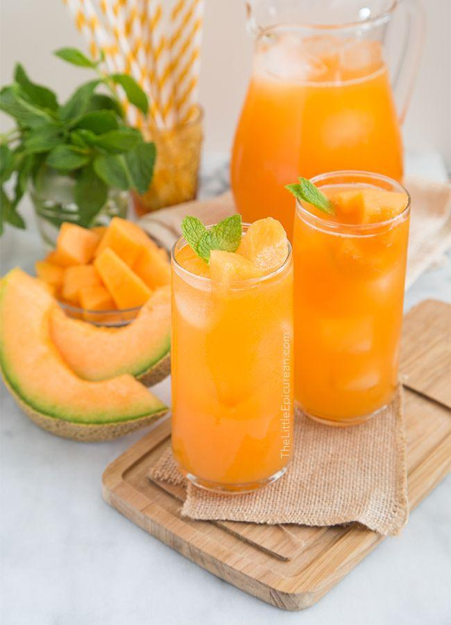 cantaloupe agua fresca cantaloupe agua fresca a simple mixture of ...