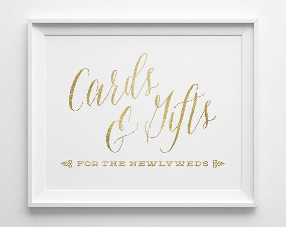 Wedding Gift Table Sign : Wedding - Wedding Signs, Wedding Cards and Gifts Sign, Gift Table Sign ...
