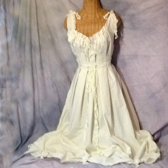 732682beed Boho Wedding Dress Cream Cotton Roses Cottage Corset Lace Floral Short or  Maxi Custom All Sizes Plus Rustic Country Hippie Gown Alternative