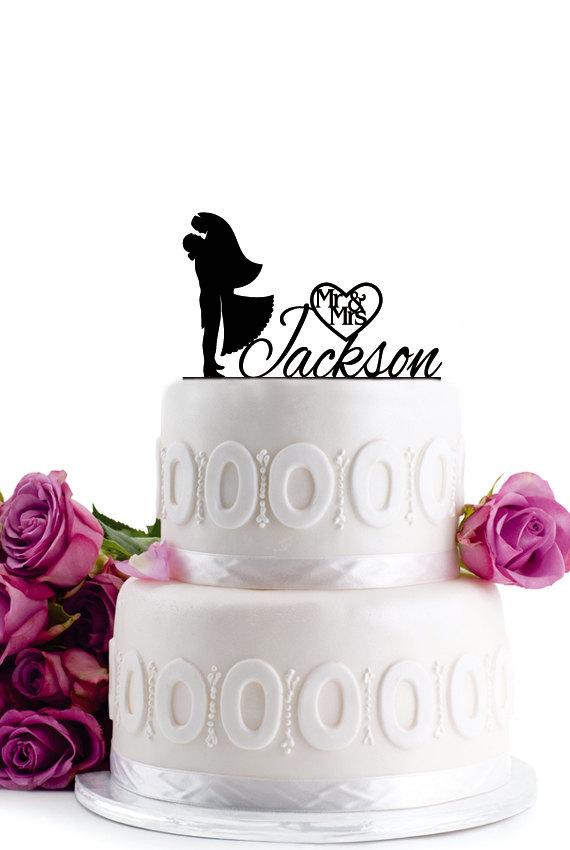 زفاف - Wedding Cake Topper - Wedding Decoration - Cake Decor - Monogram Cake Topper - Anniversary Cake Topper -Bride & Groom Cake Topper