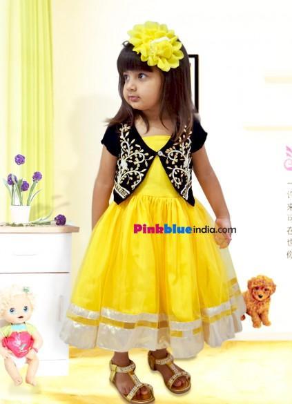 Boda - Stylish Party Dress with Velvet Jacket