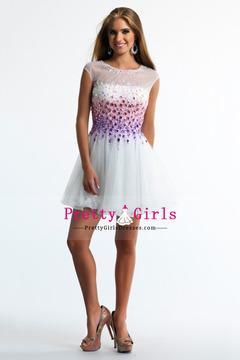 2014 Bateau Prom Dress