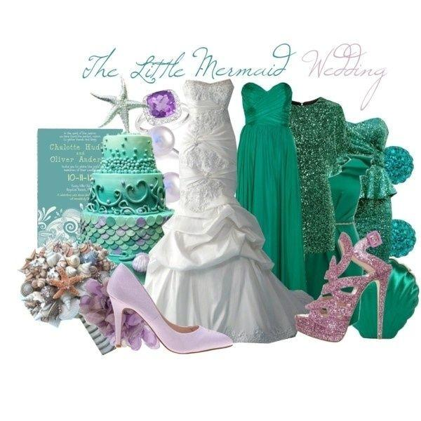 """Mariage - Community Post: 63 Ideas For Your """"Little Mermaid"""" Wedding"""