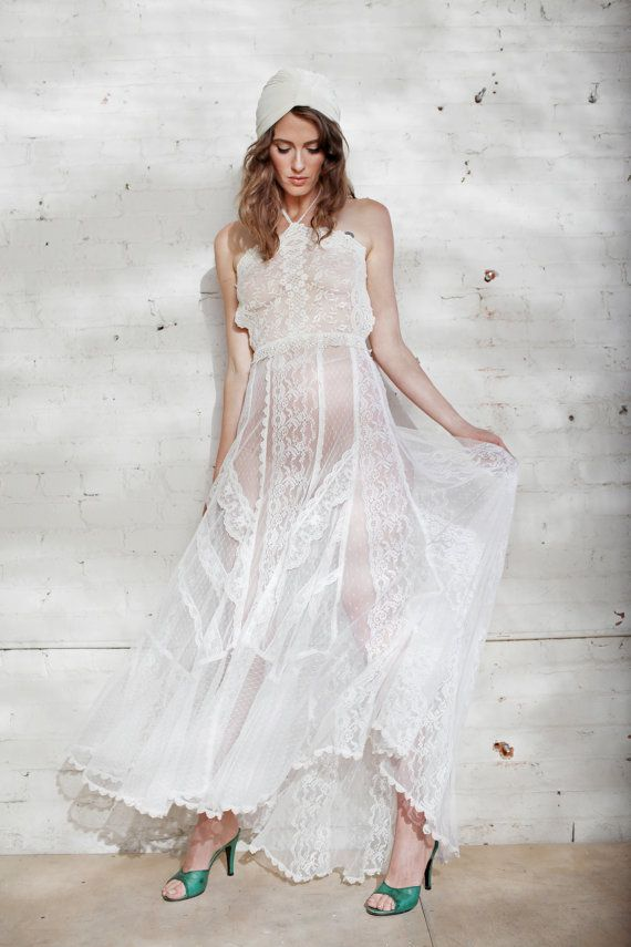 Mariage - The Elderflower Wedding Gown --ready To Wear--