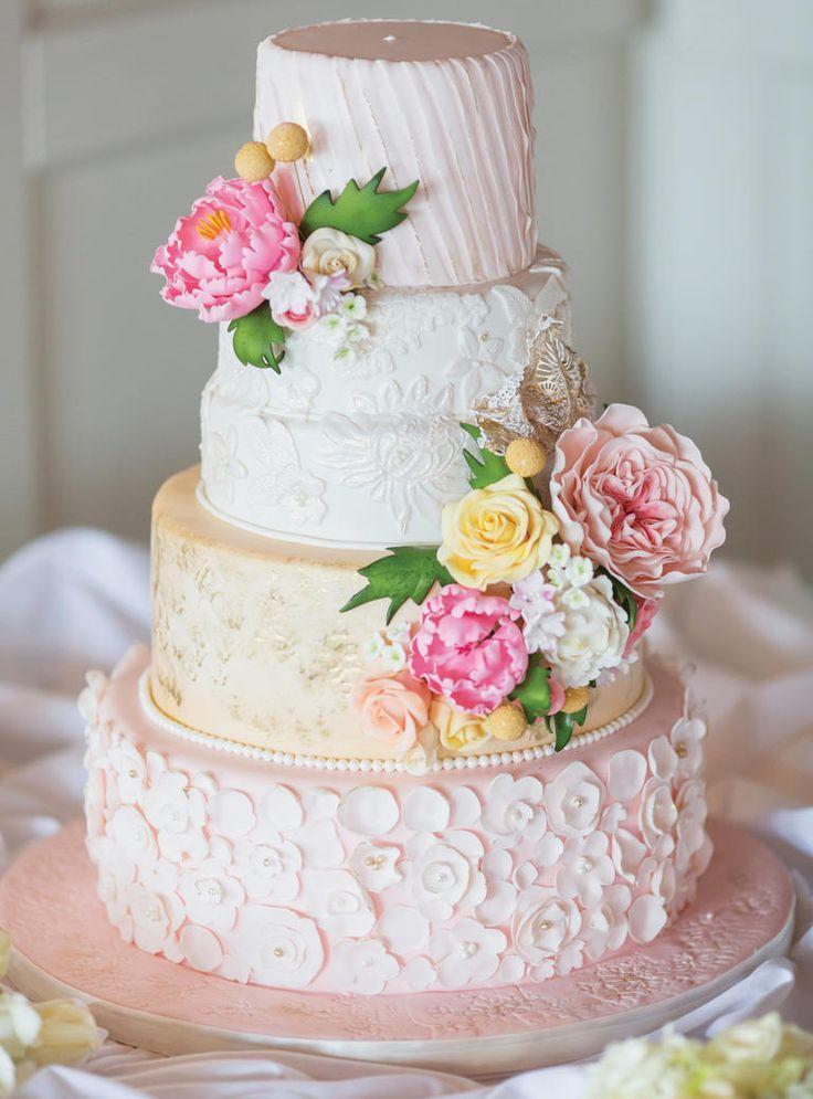 Gateau 5 Spring Wedding Cake Ideas 2341066 Weddbook