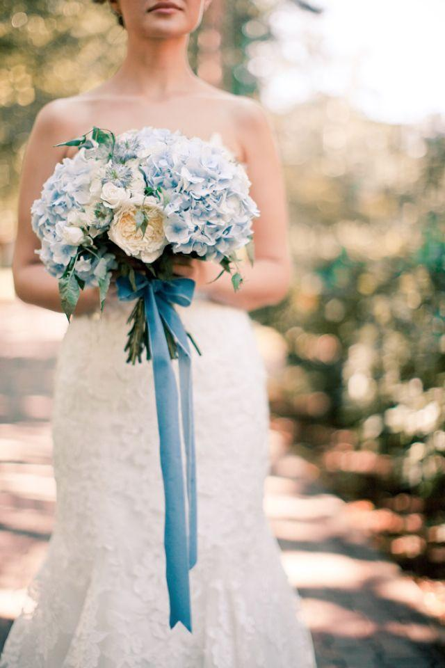 Wedding - Powder Blue And White Wedding