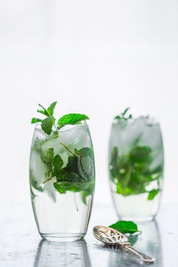 زفاف - Maple Mint Vodka Spritzer