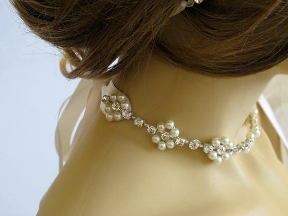 Wedding Gift Jewelry Ideas : ... necklaces wedding jewelry gift ideas handmade wedding choker necklace