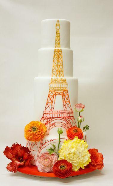Mariage - 40 Dazzling Wedding Cakes From Lulu Cake Boutique