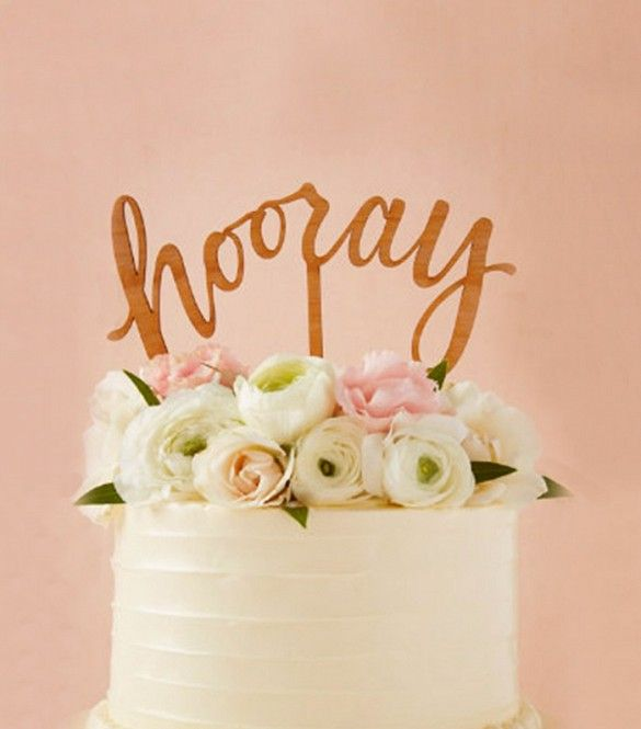 Mariage - Wedding Cake Toppers Perfect For Every Style