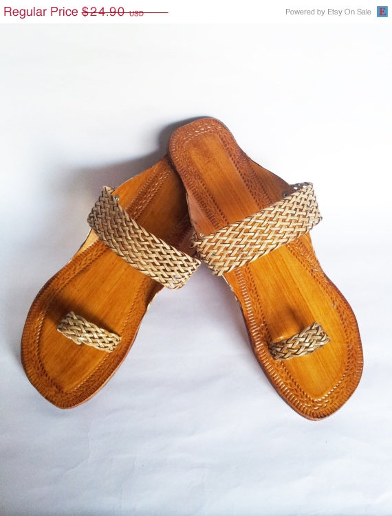 Wedding - 15%Summer Celebrations Us Size 7/Copper Leather Sandals/Flip Flops/Summer shoes/Beach Wedding Shoes/Women Flats/Flat Sandals/Strap Sandals