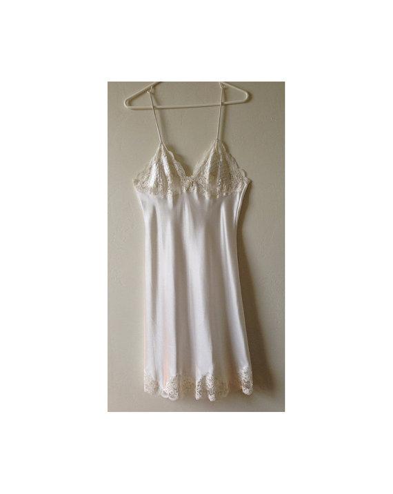 Свадьба - Christian Dior Slip - Wedding Lingerie - Size 34