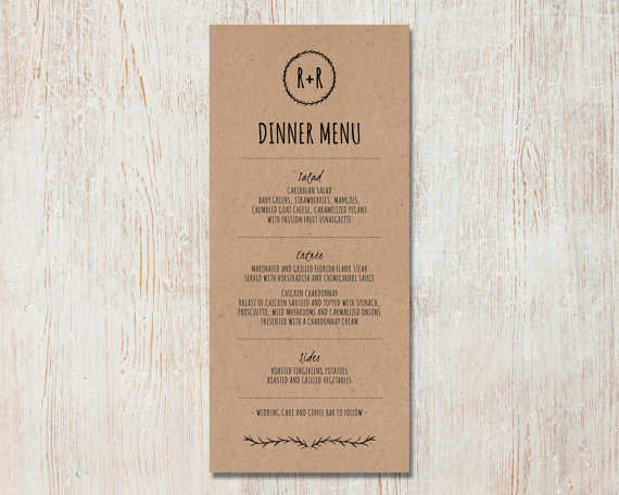 Kraft Wedding Invitations for great invitations ideas