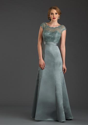83a8d985067 Buy Australia 2015 Silver A-line Scoop Neckline Beaded Lace Satin Skirt  Floor Length Mother of the Bride Dresses 7426 at AU 190.75 -  Dress4Australia.com.au