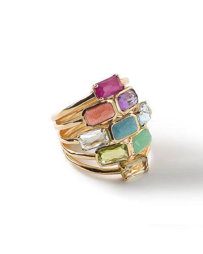 Свадьба - 18k Rock Candy Mosaic Cascade Ring - Ippolita