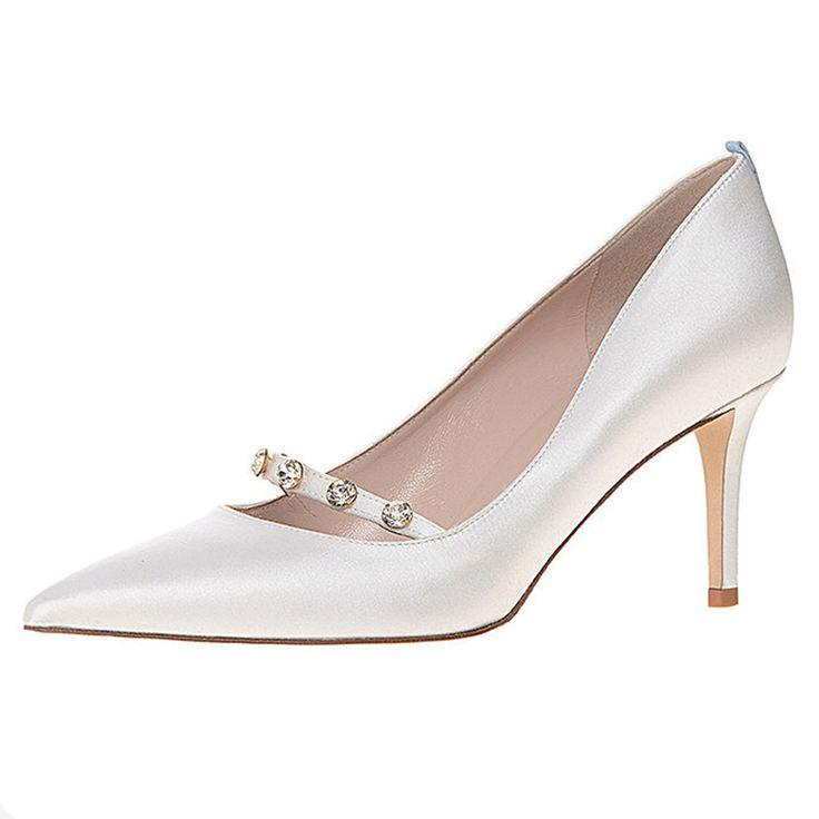 Wedding - First Look: Sarah Jessica Parker Debuts Bridal Shoe Collection!