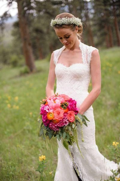 Wedding - Rustic Bohemian Colorado Rocky Mountain Wedding