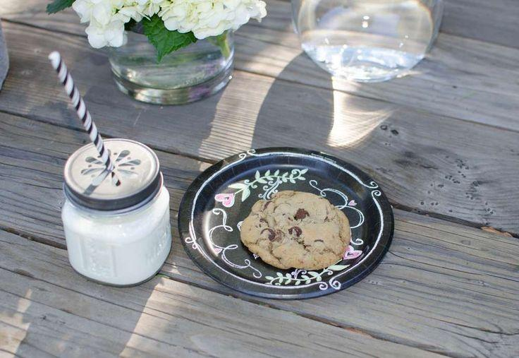 wedding theme milk and cookies engagement party ideas 2341844