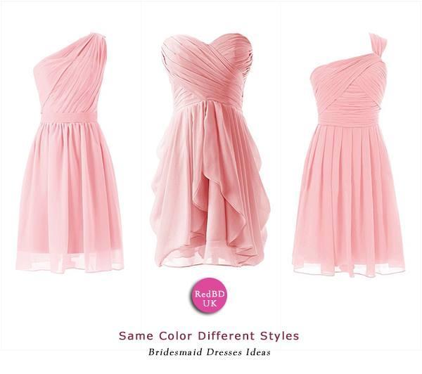 Hochzeit - Same Color Different Styles