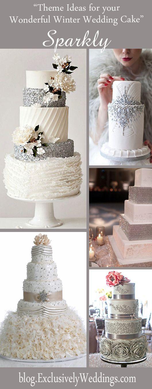 زفاف - Five Theme Ideas For Your Wonderful Winter Wedding Cake
