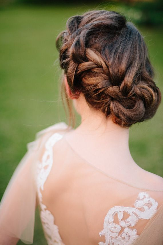 Свадьба - 20 Beautiful Braided Updos For Brides