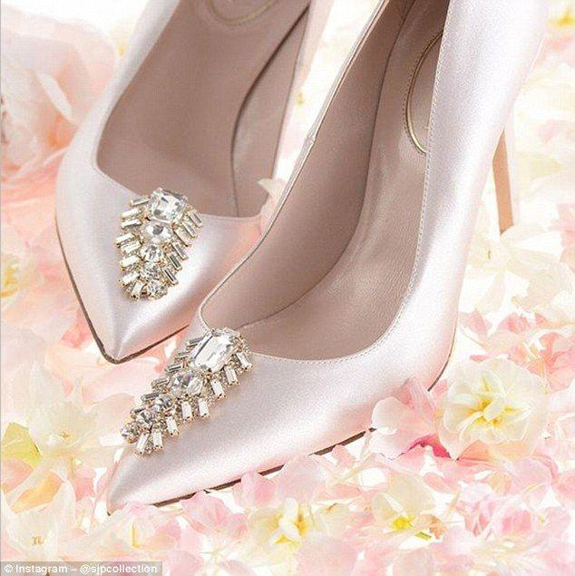 Wedding - Sarah Jessica Parker Launches New SATC Style Bridal Shoe Collection