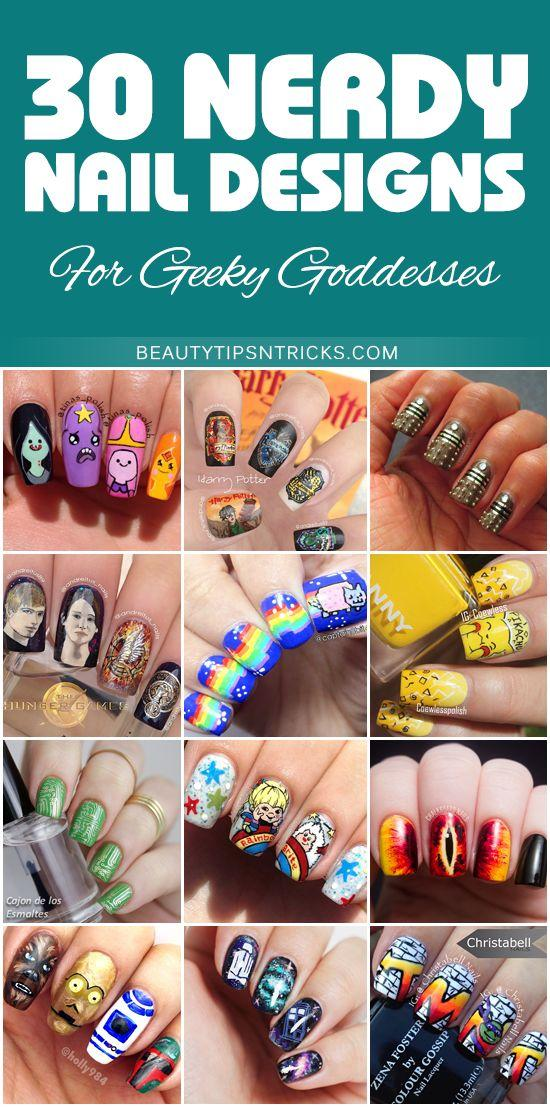 Nerdy Nail Designs: 30 Awesome Manis For Geek Goddesses #2342023 ...