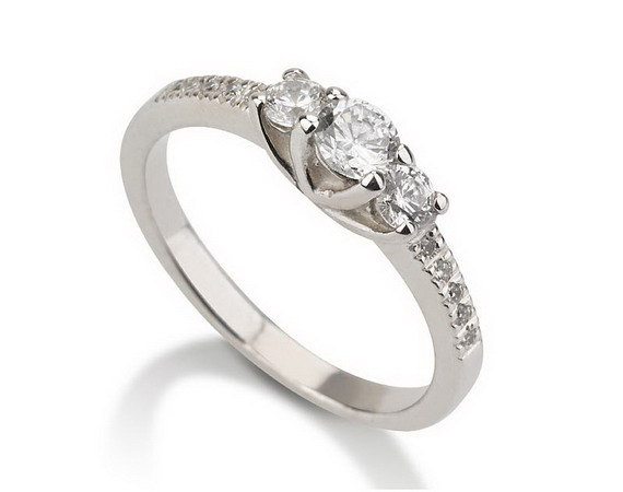 Свадьба - Engagement Promise Ring 925 Sterling Silver, Couples Ring ,Wedding Bands, Lovers Rings, Purity Ring