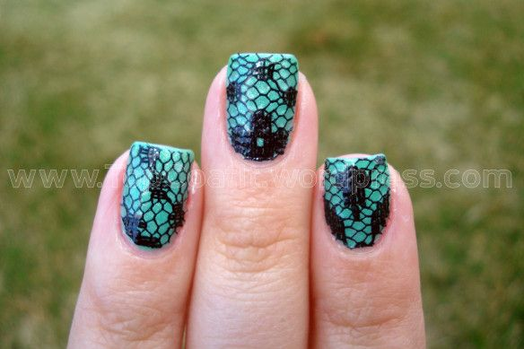 زفاف - Lace Nails Tutorial