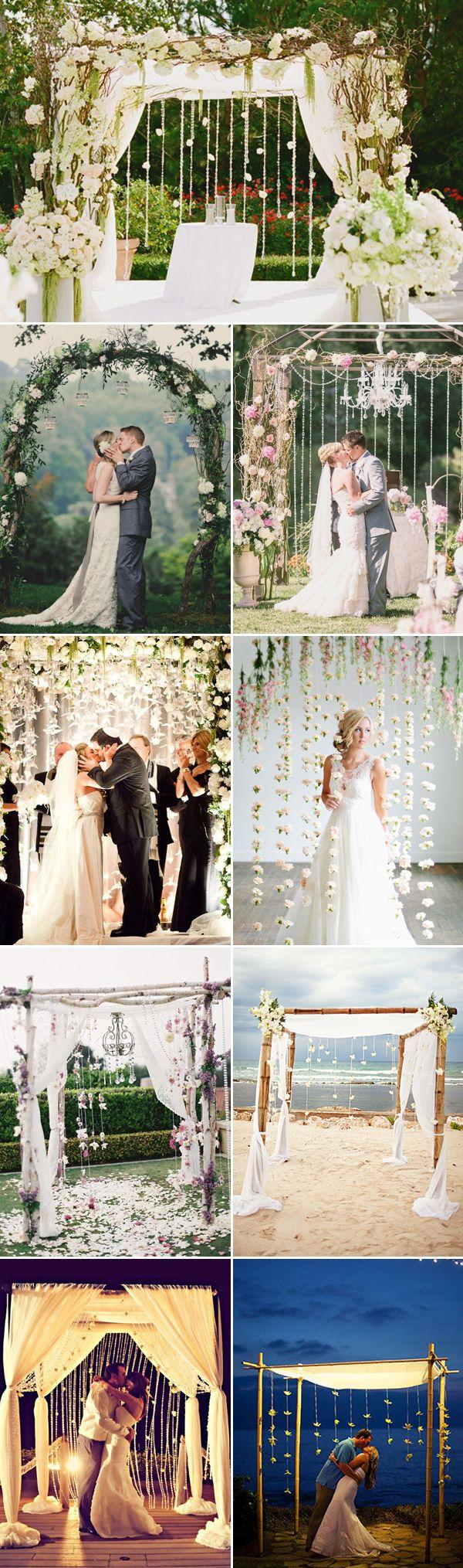 50 beautiful wedding arch decoration ideas 2342327 weddbook for Archway decoration ideas