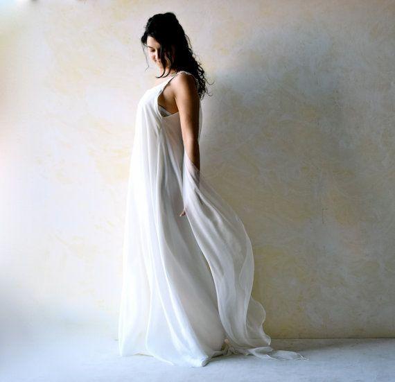 Ethereal Wedding Dress Tunic Grecian Meval Elf Beach Boho