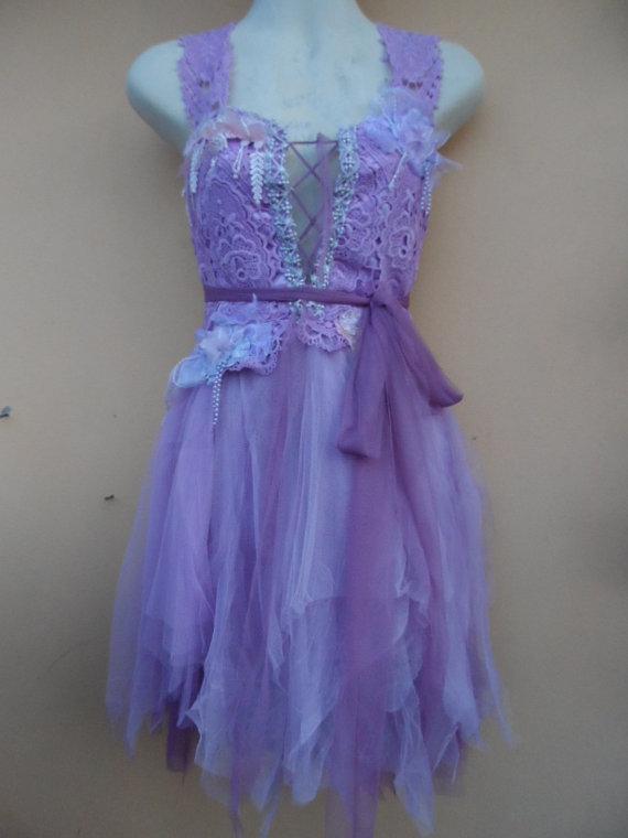 "Свадьба - 20%OFF wedding bridesmaid bohemian formal gypsy fairy dress,,,small to 36"" bust..."