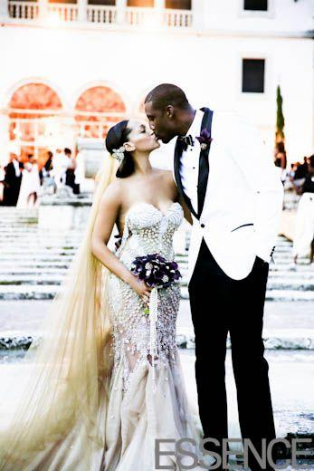 Mariage - EXCLUSIVE Bridal Bliss: Amar'e Stoudemire And Alexis Welch's Wedding Photos