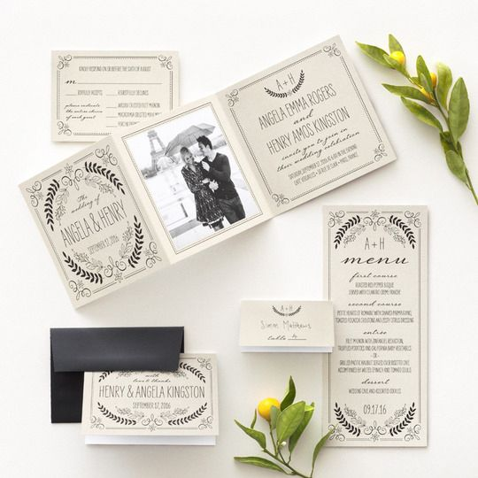Свадьба - Find Your Wedding Style With Wedding Paper Divas