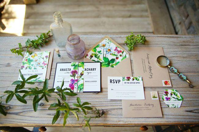 Wedding - Vibrant Garden Wedding Inspiration