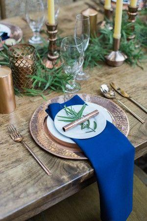 Mariage - Natural Woodsy And Copper Wedding Inspiration