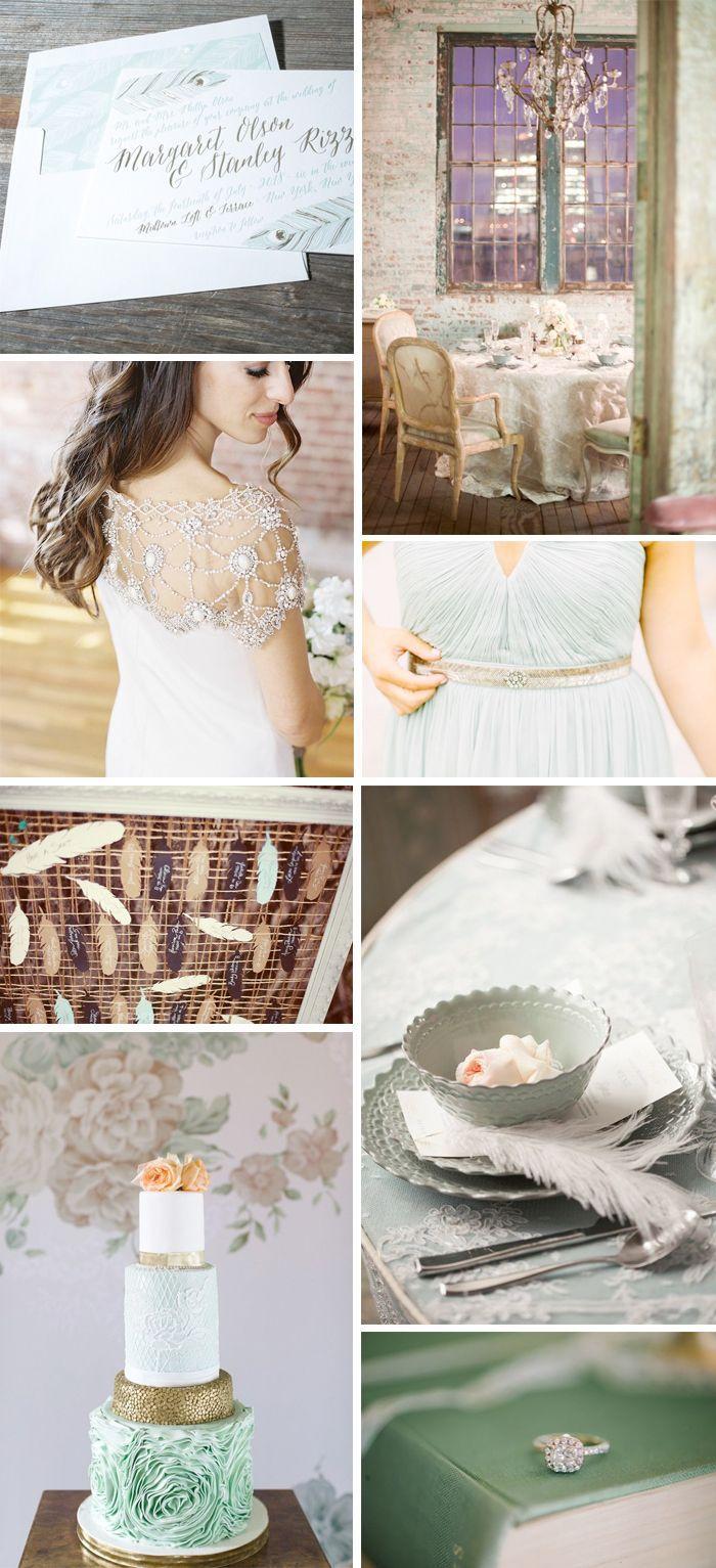 Wedding - Airy Inspiration For Aviary Wedding Invitations