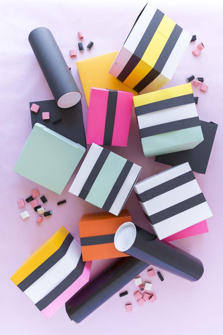 زفاف - DIY Licorice Allsorts Wrapping Paper