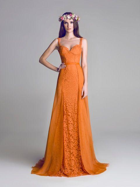 Wedding - We Are Totally Crushing On These Orange Wedding Ideas