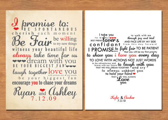 Einladung wedding vows typography 2344544 weddbook wedding vows typography junglespirit Choice Image