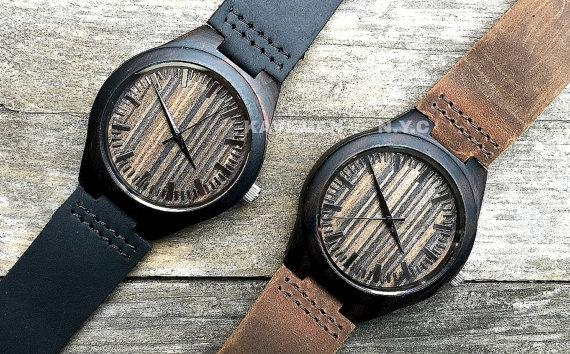 mens wrist watch wood watches engraved watch personalized watch mens wrist watch wood watches engraved watch personalized watch monogramed watch groomsmen gift wedding gift mens watch mens gift