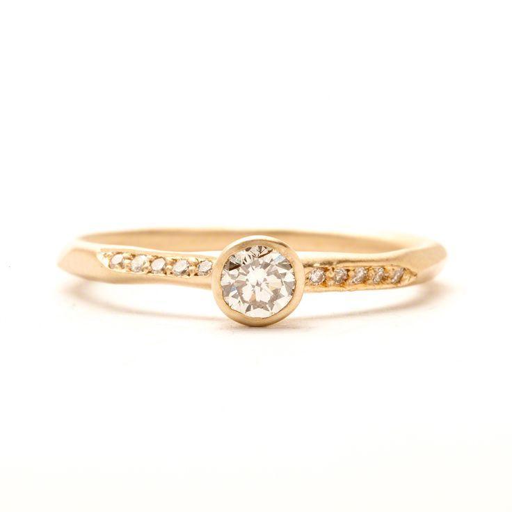 زفاف - Fancy Pavé Water Ring